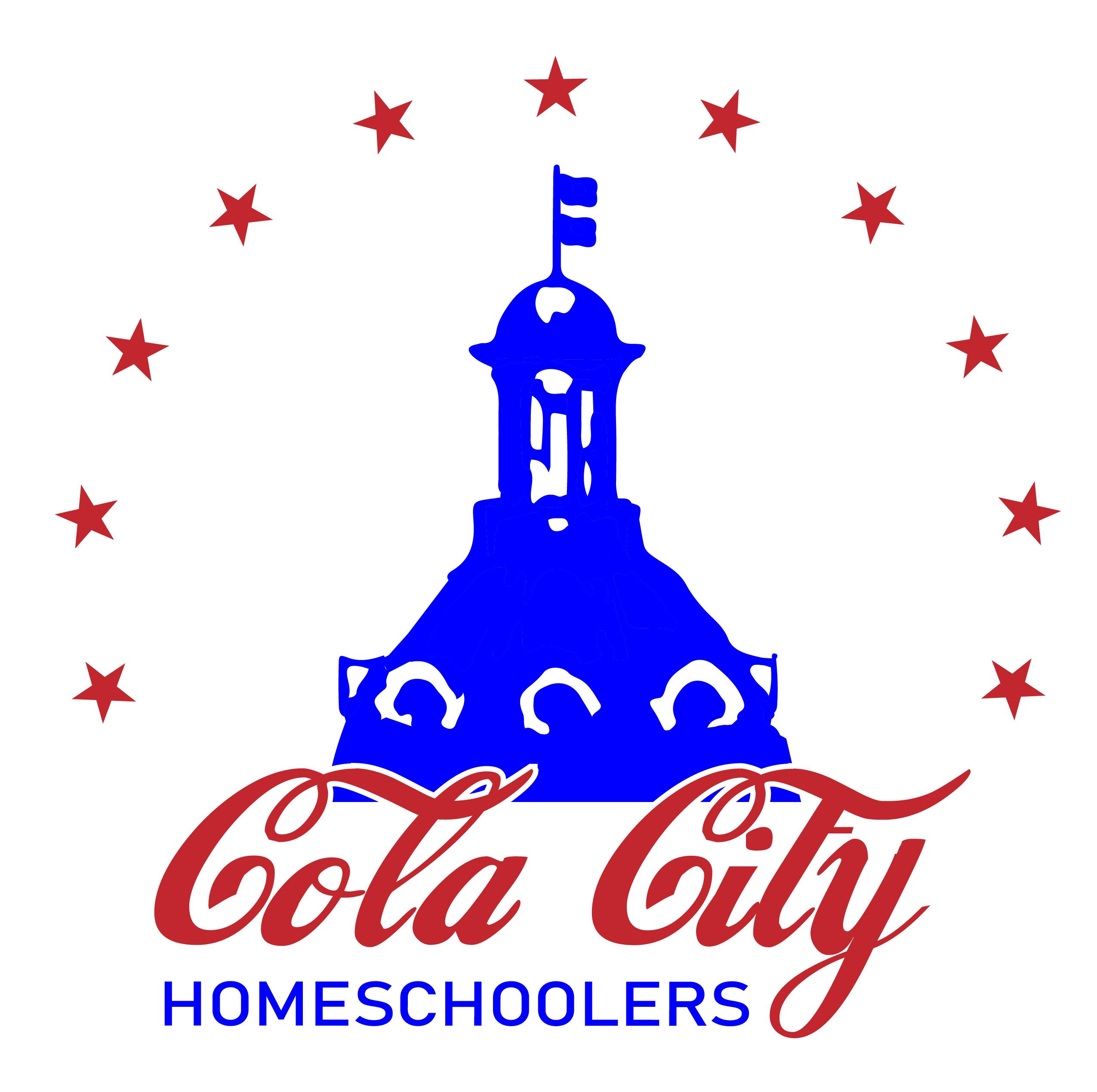 Cola City Homeschoolers Vertical logo